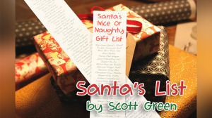 Santa\'s List by Scott Green