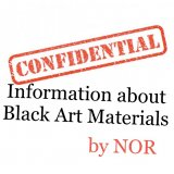 Confidential Information about Black Art Materials by NOR (Instant Download)