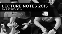 Lecture Note 2015 by Patrick Kun
