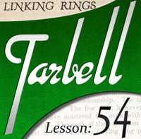 Tarbell 54 Chinese Linking Rings Instant Download